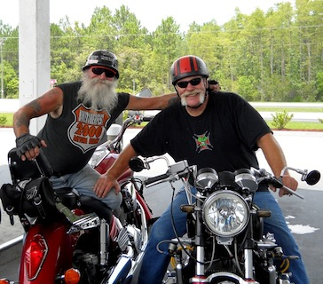 FAMOUS HONDA JAY AND WINSTON ON A RIDE 1-2-11